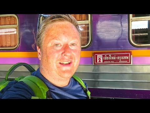 First Class Sleeper Train from Chiang Mai to Bangkok
