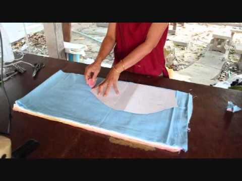 How to make Thai Chinese Kung Fu Shirts! Natural Trades Clot
