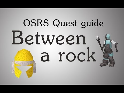 [OSRS] Between a rock quest guide