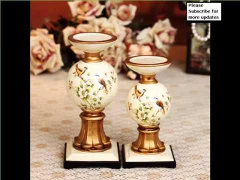 Handmade Creative Ceramic Candle Holders