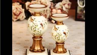 Handmade Creative Ceramic Candle Holders | Home Decor Picture Ideas With Lovely Ceramic Arts