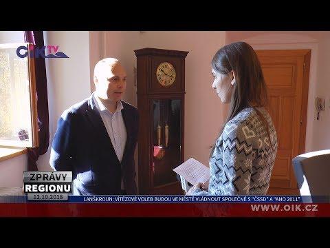 """Lanškroun: Vítězové voleb budou ve městě vládnout společně s """"ČSSD"""" a """"ANO 2011"""""""