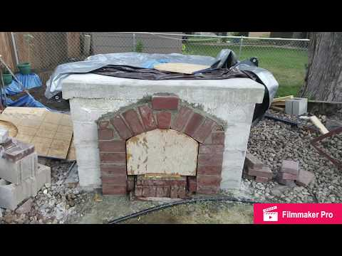 PIZZA OVEN BUILD AUGUST 2016