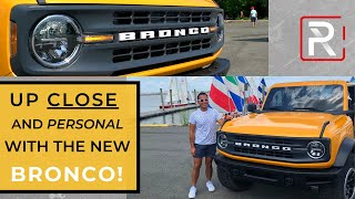 2021 Ford Bronco 2-Door [Up Close & Personal] - Redline: First Look
