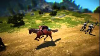 скачем на лошади смотрим мультики