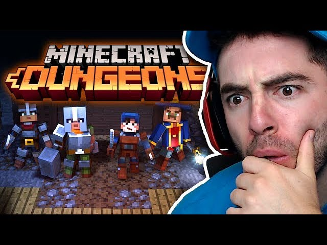 reacting-to-minecraft-dungeons