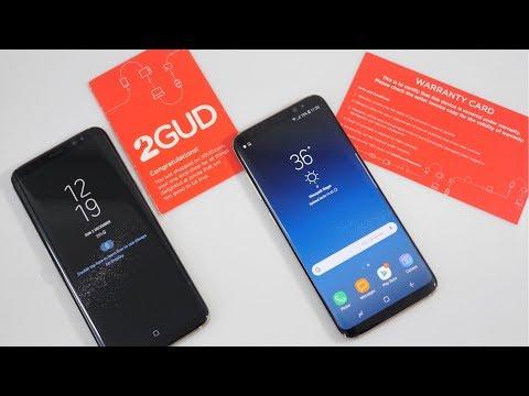 2GUD | Refurbished Samsung Galaxy S8 Vs New Galaxy S8