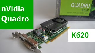 Placa de Video nVidia Quadro K620 para Workstations(http://www.omarberrio.com/ Unboxing en español de esta tarjeta de video PNY nVidia Quadro K620 nueva generación de placas de video profesional para ..., 2014-11-10T01:41:05.000Z)