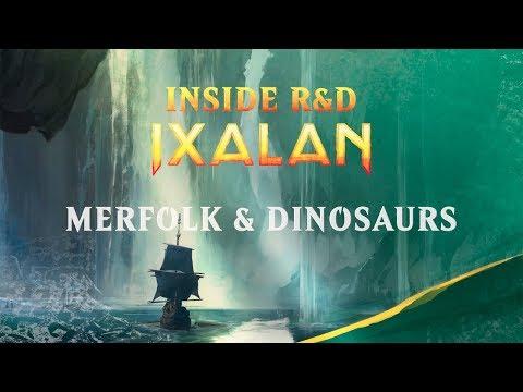 Inside R&D Ixalan: Merfolk & Dinosaurs