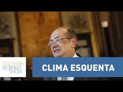 Clima Esquenta Em Discussão Sobre Gilmar Mendes No Morning Show