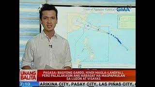 UB: PAGASA: Bagyong Gardo, hindi magla-landfall pero palalakasin ang Habagat