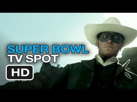 The Lone Ranger Super Bowl Preview (2013) - Armie Hammer Movie HD
