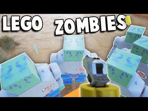 NEW Guns & ZOMBIES MODE!  Lego Brick Rigs Guns & Zombies Update (Brick Rigs Multiplayer Gameplay)