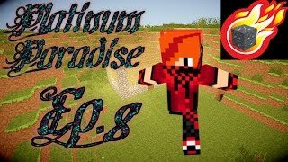 Minecraft: Platinum Paradise Ep.8 - Finding transformium