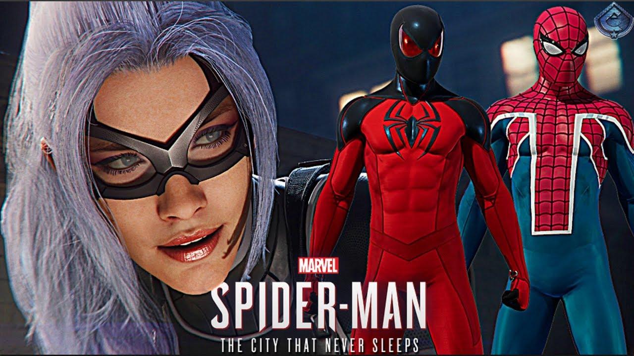 Spider Man Ps4 New Black Cat Dlc Details New Dlc Suits Revealed