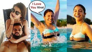 Anushka Sharma In Bikini Romantic Vacation With Virat Kohli In West Indies