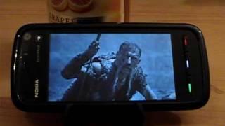 Taras Bulba Music Video on the Nokia 5800 XpressMusic