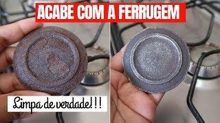 REMOVEDOR de FERRUGEM CASEIRO super fácil e gastando pouco