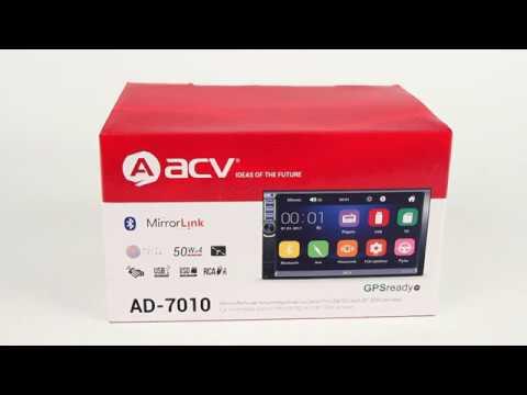 Автомагнитола ACV AD-7010 с Bluetooth (обзор)