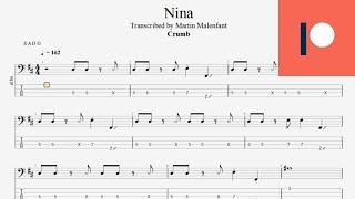 Crumb - Nina (bass tab)