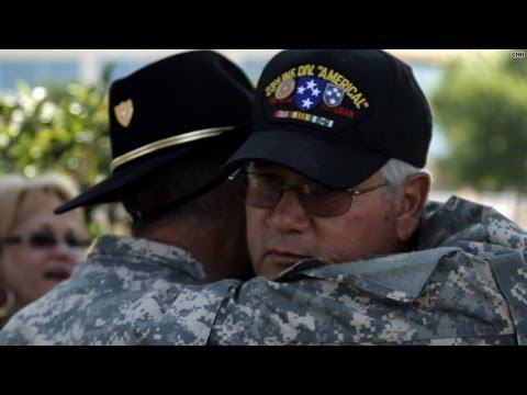 Vietnam vets finally get their welcome home