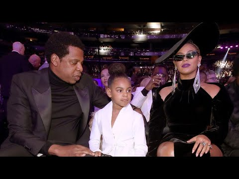 Beyonce and Blue Ivy Join Jay-Z at the GRAMMYs -- See Their Stylish Looks!