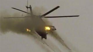 Russische Kampfhubschrauber veranstalten Armageddon für Islamisten in Syrien