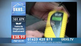 wolf vehicle diagnostic instrument obd2 from ukhs tv