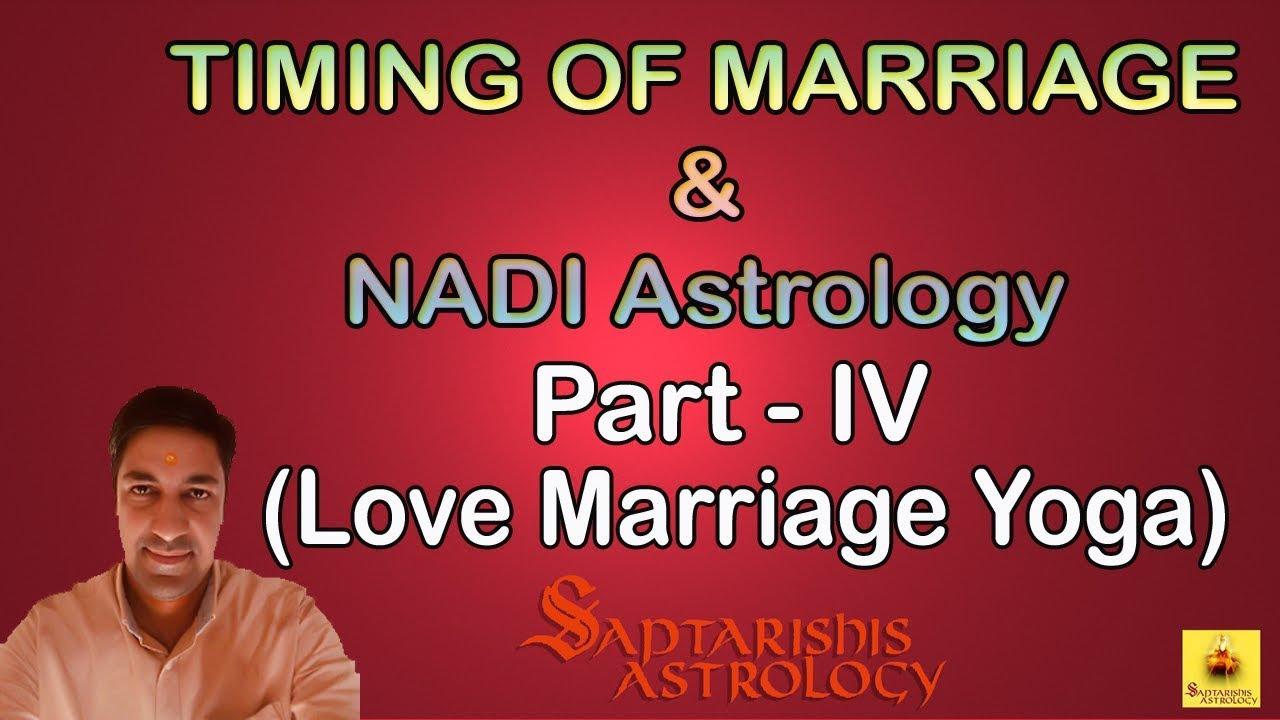 Learn Nadi Astrology   Love Marriage Yoga - Part 4