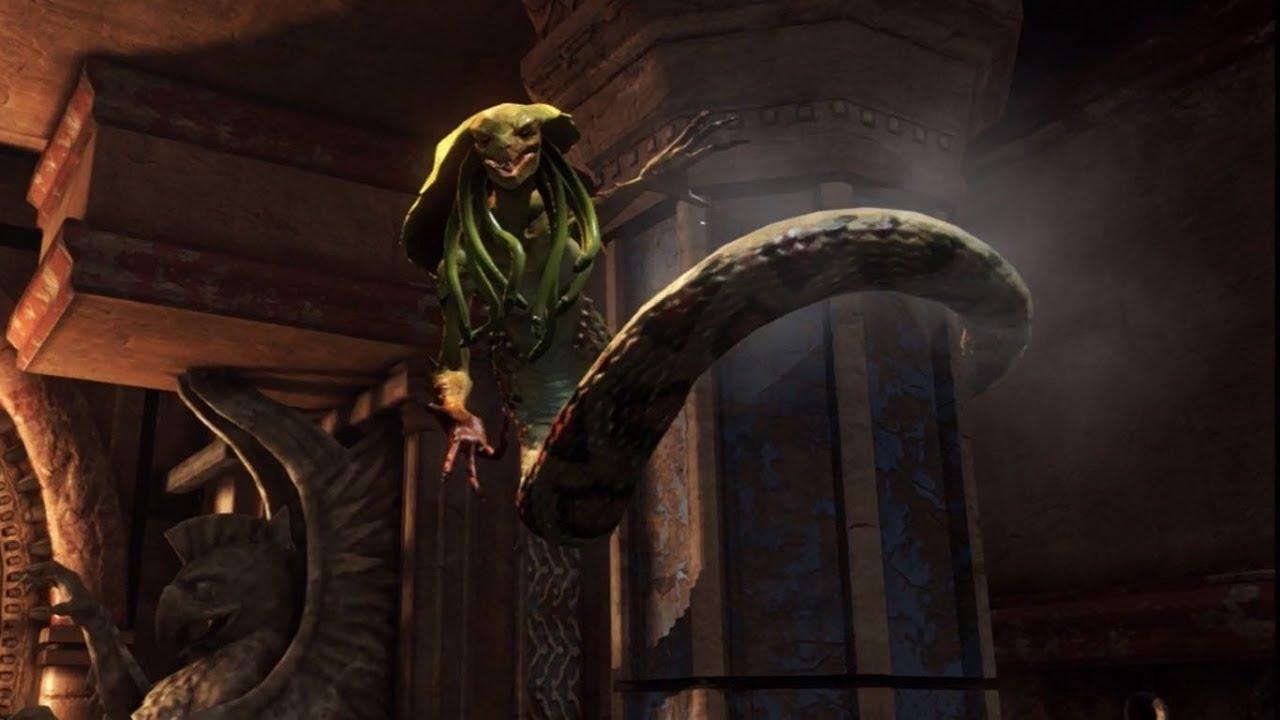 God Of War Ascension Killing Medusa