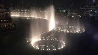 Burj Khalifa Dancing Fountain Dubai, UAE