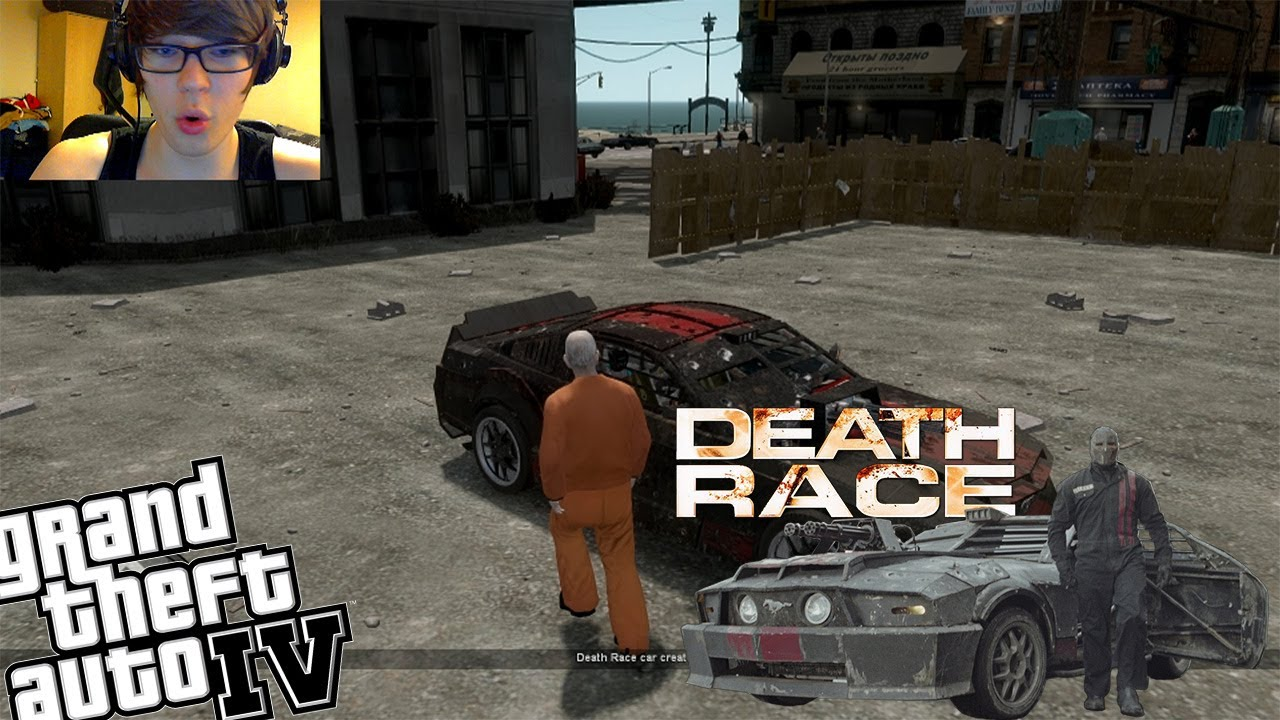 Gta Webcam Death Race Mod Epic Vehicle With Weapons Youtube
