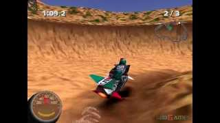 Jet Moto 2: Championship edition - Gameplay PSX / PS1 / PS One / HD 720P (Epsxe)