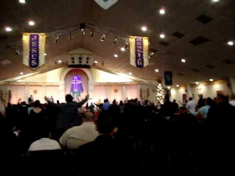 """GYPSY PASTOR NICKY MITCHELL""""s CHURCH IN HOUSTON tx"""