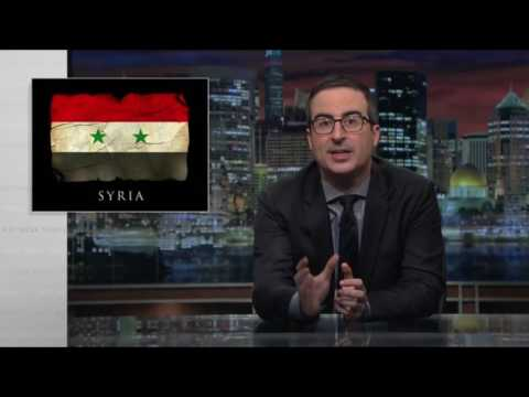John Oliver(HD) - Syria Attack Segment On 'Last Week Tonight' Raised Complicated Questions part - 2