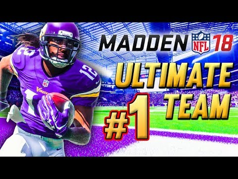 Madden 18 Ultimate Team Ep.1 - The Journey Begins (Pack Opening & Team Preview)