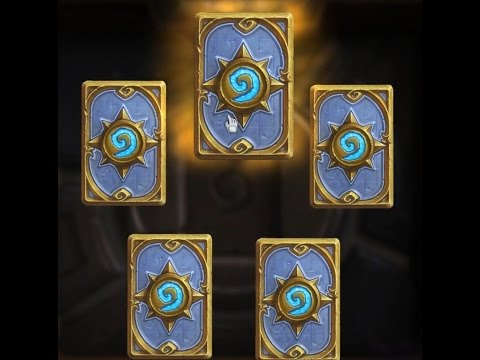 Hearthstone Unpacking -