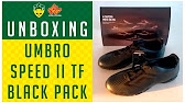 CHUTEIRA UMBRO SPEED II TF BLACK PACK - UNBOXING d8c7c03530a19