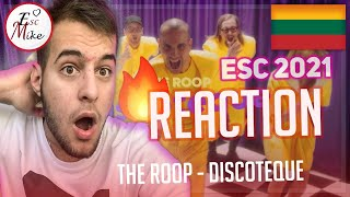 THE ROOP - Discoteque 🔥 [REACTION] - Lithuania Eurovision 2021
