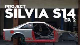 Restorasi Chassis - Project Silvia S14 Ep. 2