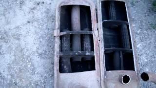 Выхлопная система. Глушители изнутри и их неисправности(Это видео о конструктивных особенностях глушителей и их неисправностях., 2014-05-24T14:15:44.000Z)