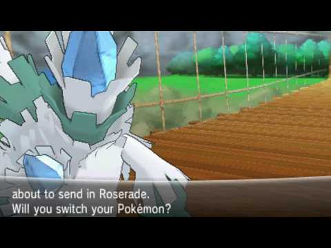 Pokemon Y - 0 Exp Part 15: Shauna, Tierno & Trevor @ Route 19