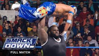FULL MATCH - Rey Mysterio vs. Mark Henry SmackDown, Jan. 20, 2006