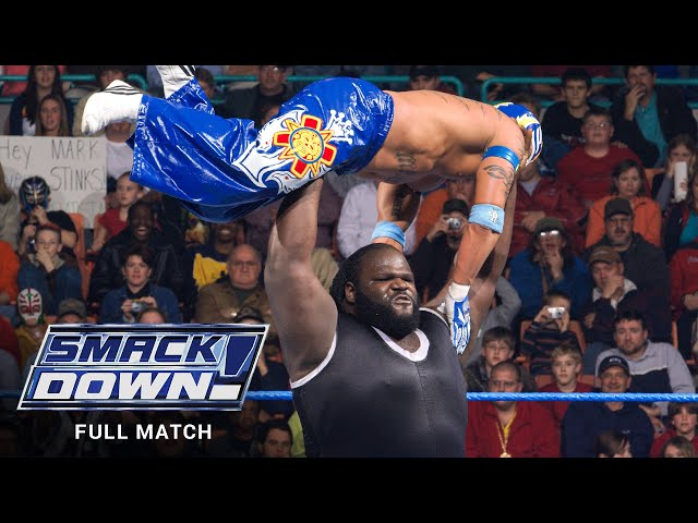 FULL MATCH - Rey Mysterio vs. Mark Henry: SmackDown, Jan. 20, 2006