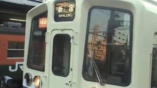2004.12.11 小田急ダイヤ改正 快速急行一番列車