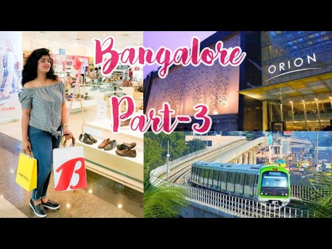 Bangalore Travel Vlog Part-3   Orion mall,Tipu sultan palace, Metro,Barbeque Nation   Doctor Ruchita