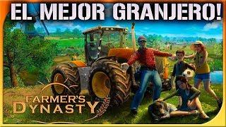 FARMERS DYNASTY! SIMULADOR DE GRANJA! UNA LOCURA! | DEWRON