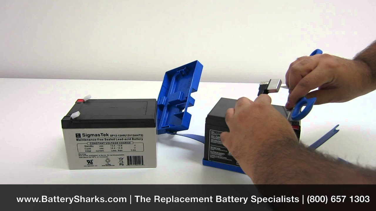 how to replace your peg perego battery with an sla replacement [ 1280 x 720 Pixel ]