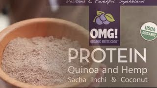 Omg! Delicious Organic Protein Powder From Quinoa And Hemp