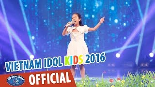 vietnam idol kids - than tuong am nhac nhi 2016 - ban ket 1 - tomorrow - diep nhi